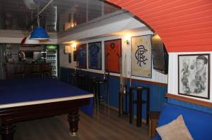 The New Bear Pit - home of the Baku Bears RSC downstairs in the Clansman