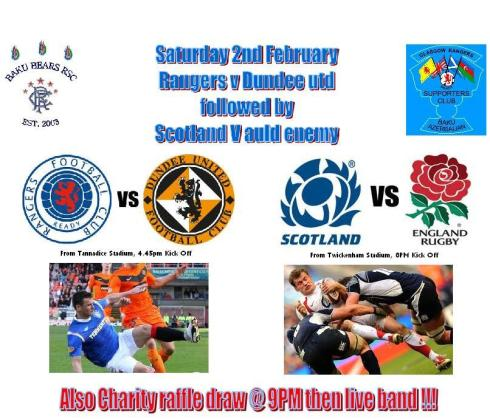 saturday 2nd feb 2013